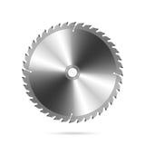 Circular saw blade. Vector illustration of a circular saw blade stock illustration