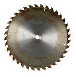 Circular Saw Blade. Isolated over white background Stock Photo