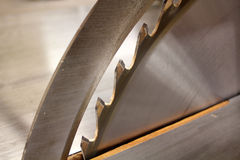 Circular saw blade Royalty Free Stock Photography