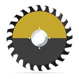 Circular saw blade Royalty Free Stock Images