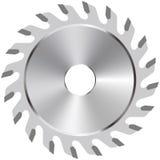 Circular saw blade. Vector illustration of a circular saw blade vector illustration