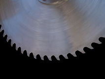 Circular saw blade Royalty Free Stock Photos