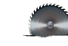Circular saw blade Royalty Free Stock Image