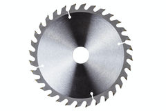 Circular saw blade Stock Photography