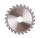 Circular saw blade Stock Images