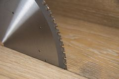 Circular saw blade Stock Image
