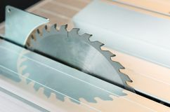 Circular saw blade Stock Image
