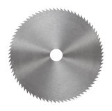 Circular saw blade for wood isolated on Royalty Free Stock Photography