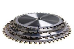 Circular Saw blades. Royalty Free Stock Photo