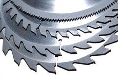 Circular saw blades 2 Royalty Free Stock Photos