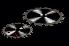 Circular saw blades Stock Images