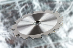Circular saw blades Royalty Free Stock Photography