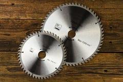 Circular saw blades Stock Photography