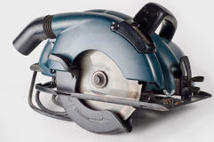 Circular saw, carpenters tool Royalty Free Stock Photo
