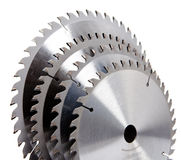 Circular Saw disc for wood cutting Royalty Free Stock Photography