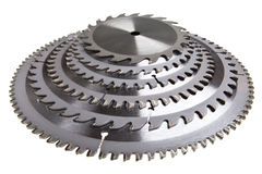 The cutting tool for plywood processing Stock Image