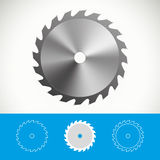 Circular saw  icon design Royalty Free Stock Images