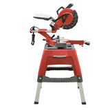 Circular saw. Under the white background stock photography