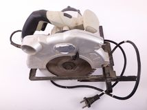 Circular Saw. On white background . Hand tools stock images