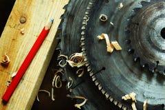 Circular saws Stock Images