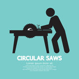 Circular Saws Graphic Royalty Free Stock Photo