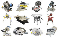 Circular saws Stock Photos