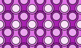 Circular scales seamless pattern. Abstract Scales texture seamless background Stock Image