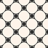 Circular seamless pattern, circular grid, thin intersecting. Subtle vector seamless pattern, minimalist geometric texture, circular grid, thin intersecting lines Stock Photography