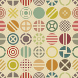 Circular seamless pattern Royalty Free Stock Photo