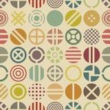 Circular seamless pattern Royalty Free Stock Photo
