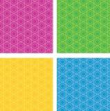 Circular seamless pattern Stock Image