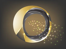 Circular shape Royalty Free Stock Image