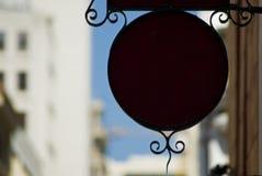 Circular sign Royalty Free Stock Image