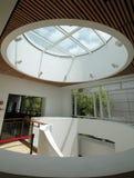 Circular Skylight. At a Museum stock photos