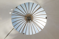 Circular skylight roof Stock Images