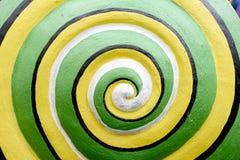 Circular of snails. Circular of green snails, abstract snail Stock Images