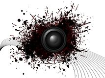 Circular speaker Royalty Free Stock Photos