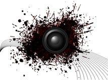 Circular speaker Royalty Free Stock Photos