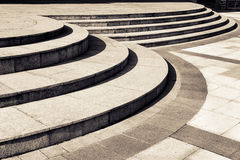 Circular stair Royalty Free Stock Photos