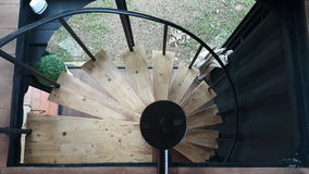 A circular staircase. Royalty Free Stock Photography