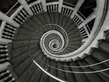 Circular staircase Royalty Free Stock Photo