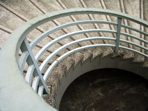 Circular stairs stock photos