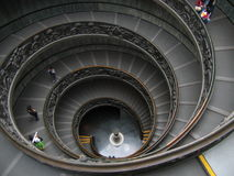 Circular Stairway in The Vatican - Rome, Italy