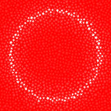 Circular star frame Stock Image