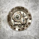 Circular Steampunk. Steampunk themed digitally created ornament Royalty Free Stock Photo