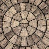 Circular Stone Pattern Backdrop Stock Images
