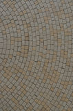Circular street path pavement Royalty Free Stock Photos