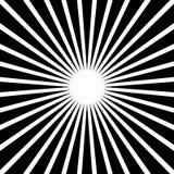 Circular, stripes lines geometric pattern. Monochrome illustrati Royalty Free Stock Images