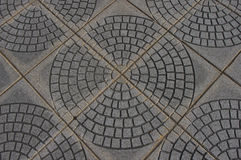 Circular Tiles Royalty Free Stock Photo