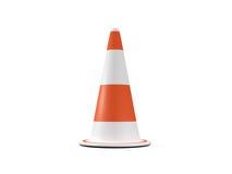 Circular Traffic Cone Stock Images
